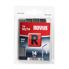 NOVUS VLAKDRAAD NIETEN R 50/14MM, 960 ST.