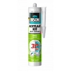 BISON ACRYLAATKIT 30 MIN WIT CRT 300ML*12 NLFR