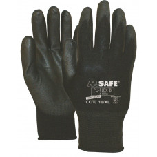 M-SAFE PU-FLEX B 14-086 ZWART, M