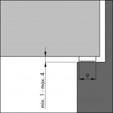 TOCHTPROFIEL TOCHTBAND I-ZWART 7,5 (DUURZAAM SCHUIM)